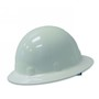 Honeywell White Fibre Metal® SuperEight® Thermoplastic Full Brim Hard Hat With Ratchet/8 Point Ratchet Suspension