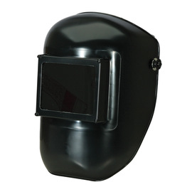 Honeywell Tigerhood™ Classic 990 Black Noryl® Thermoplastic Fixed Front Welding Helmet With 4 1/2