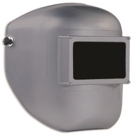 Honeywell Fibre-Metal® Tigerhood Classic Gray Thermoplastic Fixed Front Welding Helmet With 4 1/2