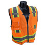 Radians, Inc. Medium Hi Viz Orange RadWear™  Polyester Mesh/Polyester Tricot Vest