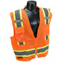Radians, Inc. Small Hi Viz Orange RadWear™  Polyester Mesh Vest