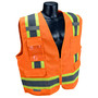 Radians, Inc. Medium Hi Viz Orange RadWear™  Polyester Woven Twill Vest