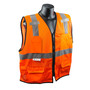 Radians, Inc. Small - Medium Hi Viz Orange RadWear™  Polyester Mesh Vest
