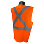 Radians, Inc. Medium Hi Viz Orange RadWear™  Polyester Mesh Vest