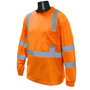 Radians, Inc. Large Hi-Viz Orange RadWear™ Moisture Wicking Birdseye Mesh T-Shirt
