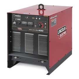 Lincoln Electric® Idealarc® CV400 MIG Welder, 230/460/575 Volt, With Power Source, Magnum® PRO 350 MIG Gun With 15' Leads, 10' Power Cable, Work Clamp, Flowmeter Regulator And Gas Hose (Feeder Sold Separately)
