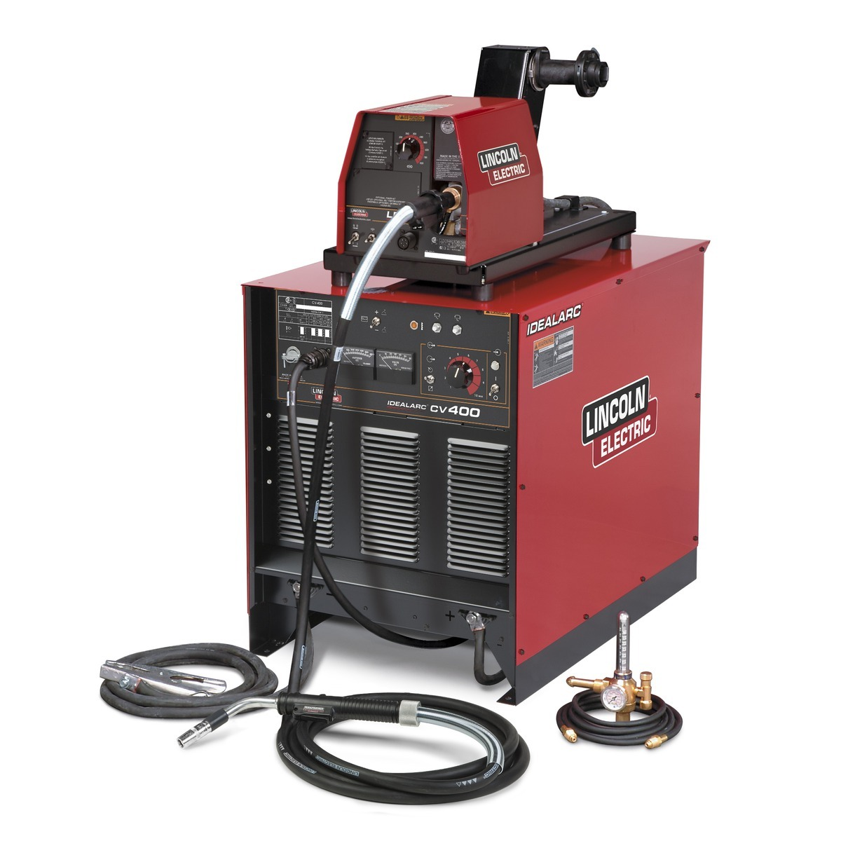 Lincoln Electric Idealarc Cv400 Lf72 Ready Pak Mig Welder 230