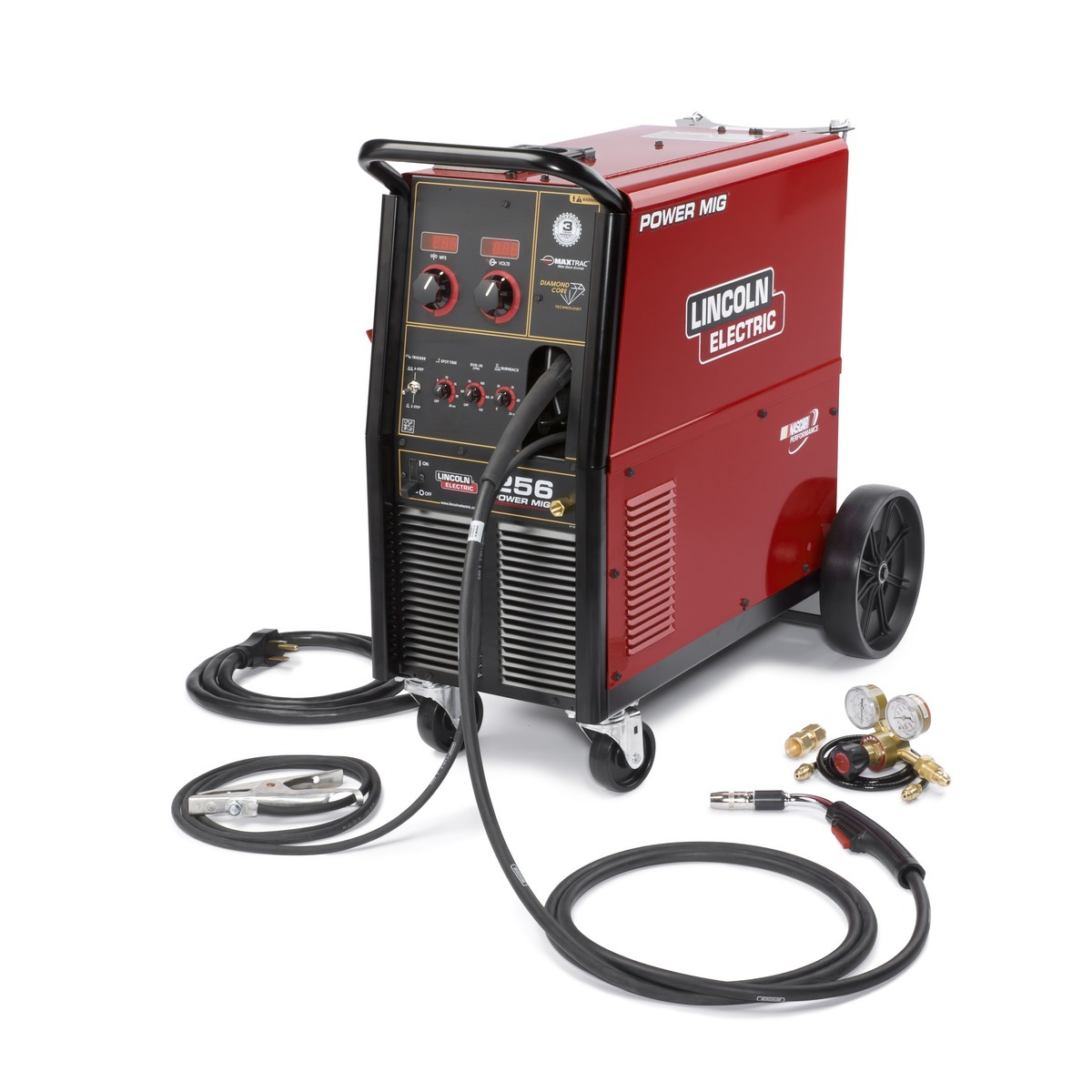 Airgas Mig Welding Process Diagram Lincoln Electric Power 256 Welder 208 230volt With Magnum Pro