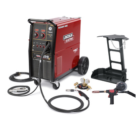 Lincoln Electric® Power MIG® 256 MIG Welder 208/230Volt With Magnum® PRO 250L Gun With 15' Leads, Magnum® 250LX Spool Gun, Dual Cylinder Mounting Kit And Regulator