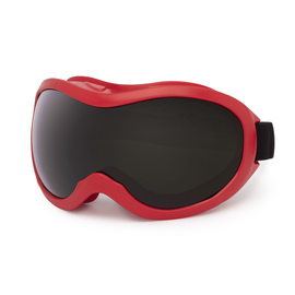 Lincoln Electric® Cutting Grinding Goggles With Red Frame And IRUV Shade 5.0 Lens