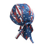 Lincoln Electric® Red, White And Blue All American™ 100% Cotton Doo Rag Bandana