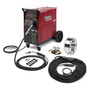 Lincoln Electric® Power MIG® 350MP Aluminum One-Pak® MIG Welder, 208/230/460/575 Volt, With Magnum® PRO Curve™ 300 Gun With 15' Leads, Magnum® PRO AL G225A Push-Pull Gun, Gas Regulator And Hose, Work Clamp And Cable, 230V Input Cord And Plug And 115V Receptacle