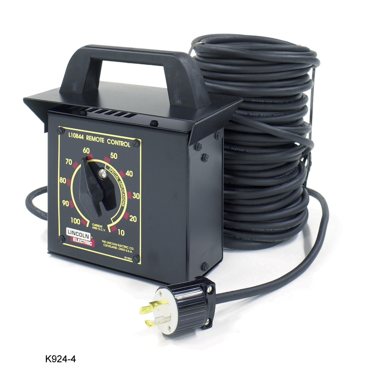 Airgas Wiring A Rheostat Lincoln Electric Remote Control Kit Includes Switch Receptacle And