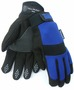 Tillman® Medium Black And Blue TrueFit® Synthetic Leather Full Finger Insulated Mechanics Gloves With Neoprene/Hook And Loop Cuff