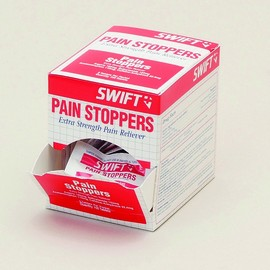 North By Honeywell® Swift First Aid Pain Stoppers Extra Strength Pain Reliever Tablet (2 Per Pack, 50 Packs Per Box)