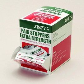 Honeywell North® Pain Stoppers Extra Strength Pain Relief Tablets (2 Per Pack, 250 Packs Per Box)
