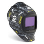 Miller® Digital Infinity™ Black/Yellow/Silver Welding Helmet Variable Shades 5 - 13 Auto Darkening Lens ClearLight™ With Black Ops™ Graphics
