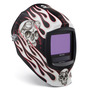 Miller® Digital Infinity™ Red/White/Black Welding Helmet Variable Shades 5 - 13 Auto Darkening Lens