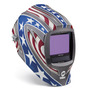 Miller® Digital Infinity™ Red/White/Blue Welding Helmet Variable Shades 5 - 13 Auto Darkening Lens