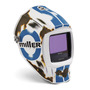 Miller® Digital Infinity™ Blue/Brown/White Welding Helmet Variable Shades 5 - 13 Auto Darkening Lens
