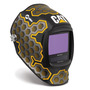 Miller® Digital Infinity™ Black/Yellow/Silver Welding Helmet Variable Shades 5 - 13 Auto Darkening Lens
