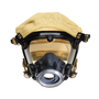 3M™ Scott™ Large AV-2000 Series Full Face Air Purifying Respirator With Kevlar® Headnet (Facepiece Adapter and Cartridge Sold Separately)