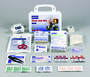 Honeywell North® White Plastic Portable Or Wall 10 Person First Aid Kit