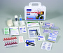 Honeywell North® White Plastic Portable Or Wall 25 Person First Aid Kit