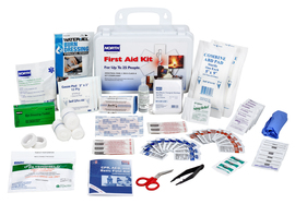 Honeywell North® White Plastic 25 Person First Aid Kit