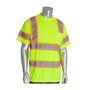 PIP® Large Hi-Viz Yellow/Hi-Viz Orange 1 Polyester/Birdseye Mesh Two-Tone Shirt