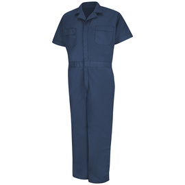 Red Kap® 6X/Regular Navy 5 Ounce Coveralls With Zipper Closure