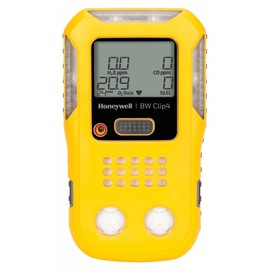 BW Technologies by Honeywell BW Clip4 Portable Oxygen, Combustible Gas, Hydrogen Sulfide And Carbon Monoxide Monitor