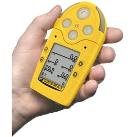 BW Technologies by Honeywell GasAlertMicro 5 Portable Carbon Monoxide, Combustible Gas, Hydrogen Sulphide, Oxygen And Sulphur Dioxide Monitor