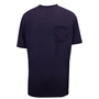 National Safety Apparel® Small Navy Classic Cotton™ 12 cal/cm² Flame Resistant T-Shirt