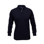 National Safety Apparel® 3X Navy TrueComfort® 8.9 cal/cm² Flame Resistant Long Sleeve Polo