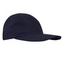 National Safety Apparel® One Size Fits Most Navy UltraSoft® 12 cal/cm² Flame Resistant Baseball Cap With Hook And Loop Closure