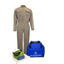 National Safety Apparel® Large Khaki DuPont™ Protera® 8 cal/cm² Flame Resistant Arc Flash Kit