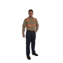 National Safety Apparel® Medium Tan TECGEN® OPF Blend Knit 8 cal/cm² Flame Resistant Work Shirt With Button Closure