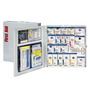 First Aid Only® White Metal Wall Mounted 50 Person SmartCompliance Cabinet