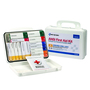 First Aid Only® White Plastic Portable Or Wall Mounted 25 Person First Aid Kit