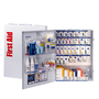 First Aid Only® White Metal Wall Mounted 150 Person SmartCompliance Cabinet