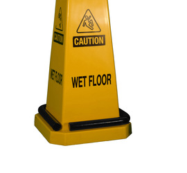 Cortina Safety Products Black Metal Floor Cone