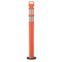 Cortina Safety Products Orange Polyethylene Delineator Post