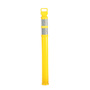 Cortina Safety Products Yellow Polyethylene Delineator Post