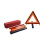 Cortina Safety Products Orange Acrylic/ABS/Polypropylene Warning Triangle