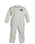 RADNOR® 2X White Pro-1 Polyethylene Disposable Coveralls (Lead time for this product may be longer than normal.)