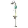 Haws® AXION® MSR Combination Corrosion Resistant Shower/Eye Wash Station