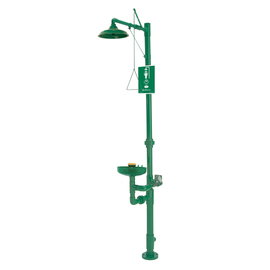 Haws® AXION® MSR Corrosion Resistant Shower/Eye Wash Station