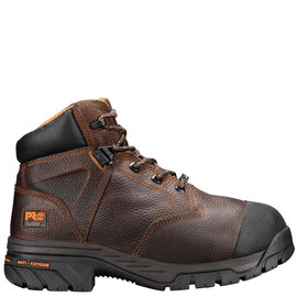Timberland Pro® Size 9 Brown Helix Leather Composite Toe Boot