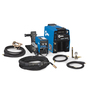 Miller® Invision™ 352 MPa Plus MIG Welder, 208/230/400/460/575 Volt, With Power Source, S-74 MPa Single Wire Feeder, Bernard™ Q400 MIG Gun With 15' Leads And XR-A Aluma-Pro™ Plus Push/Pull Water Cooled Gun With 25' Leads, Coolmate™ 3 Cooler And Coolant, Smith® Regulator/Flowmeter And Gas Hose